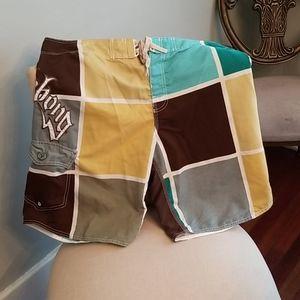 Billabong Rare Board Shorts Swim Trunks Sz. 38